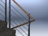 Treppengelaender CNS, Detail 2