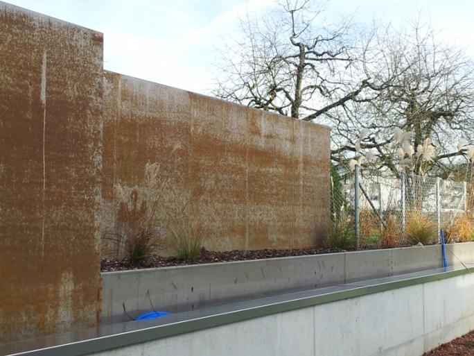 Garten sichtschutzwand blaser vpd for Sichtschutzwand garten