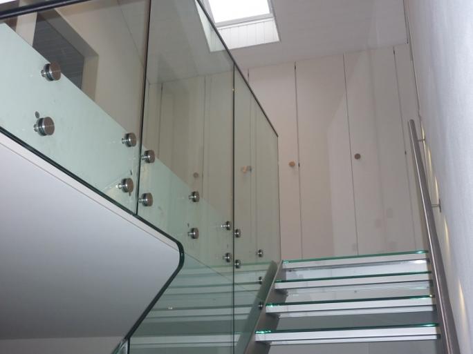 Treppe Aluminium